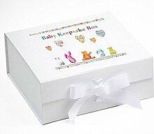 Baby Andenken Box, Memory Box, Luftballons, Baby
