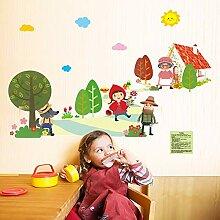 Baby Aufkleber, Wandbilder, süße Tiere,
