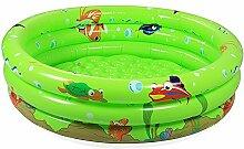 Baby Ball Pool Aufblasbarer Pool Aufblasbarer Spiel Pool Indoor Spielzeug Pool (Farbe : Grün, größe : L)