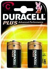 Baby-Batterie DURACELL Plus 1,5 V, Typ C, 2er