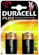 Baby-Batterie DURACELL Plus 1,5V, Typ C, 2er