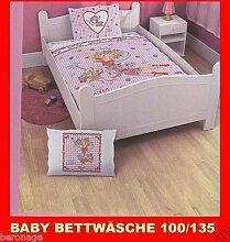 BABY BETTWÄSCHE 100/135 PRINZESSIN LILLIFEE