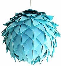Baby Blue Harlekin, hellblaue Lampe Leuchte