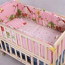 Baby Comfort Bettwäsche-Set für Babybett,