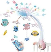 Baby Cribel Mobile Mit Lichtern Und Musik