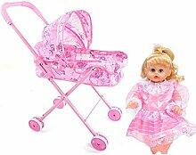 Baby Dolls Toy Trolley - Kinderspielzeugpuppe