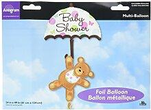 Baby Dusche Regenschirm & Bear Show