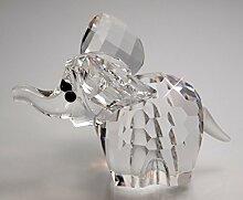 Baby Elefant Glaskristall