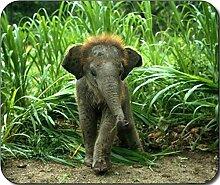 Baby Elefant groß Mousepad Mauspad tolle Geschenkidee