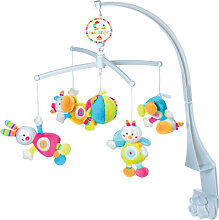 Baby Fehn 70´s Stripes Musik-Mobile Hase (Rock a