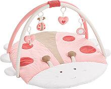 Baby Fehn Garden Dreams 3-D Activity Spieldecke Biene (Rosa-Weiß-Braun) [Babyspielzeug]