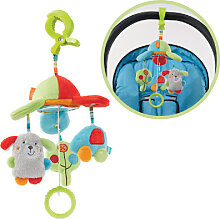 Baby Fehn Holiday Mini Musik Mobile Hund (Sortiert) [Babyspielzeug]