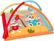 Baby Fehn Jungle Heros 3-D Activity Spieldecke Panda (Bunt) [Babyspielzeug]