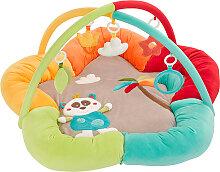 Baby Fehn Jungle Heros 3-D Activity Spielnest Panda (Bunt) [Babyspielzeug]