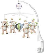 Baby Fehn Monkey Donkey Musik Mobile Affe