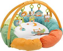 Baby Fehn Sleeping Forest 3-D Activity Spielnest Igel und Eule (Bunt) [Babyspielzeug]