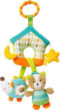 Baby Fehn Sleeping Forest Mini Mobile Haus mit C-Ring [Babyspielzeug]
