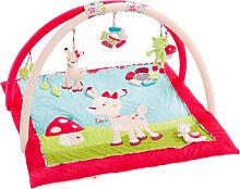 Baby Fehn Sweetheart 3-D Activity-Decke Reh (Pink-Türkis) [Babyspielzeug]