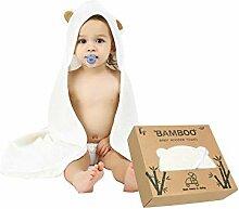 Baby-Handtuch mit Kapuze, sehr weich, 100 %