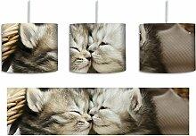 Baby Katze inkl. Lampenfassung E27, Lampe mit