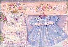 Baby Kinder Tapete Grenze für Cottage Küche