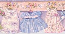 Baby Kinder Tapete Grenze für Cottage Küche Badezimmer Wohnzimmer, Rolle 15'x 16,5cm