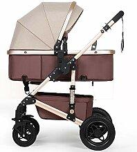 Baby-Kinderwagen, Kinderwagen kann sitzen liegend