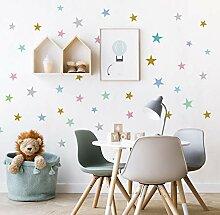 Baby Kinderzimmer Schlafzimmer Stern Wandaufkleber