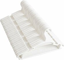 Baby-Kleiderbügel, 100 Stück, weiße