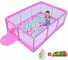 Baby-Laufgitter mit Spielmatten | Tragbares
