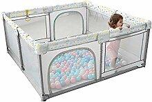 Baby Laufstall, Faltbarer und tragbarer Zaun für