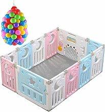 Baby-Laufstall Großer sicherer Spielplatz Einfach