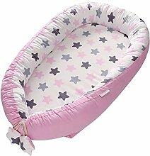 Baby-Liege fürs Bett, tragbares Babywiege-Nest
