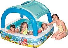 Baby Planschbecken,Babypool Pool Mit Aufblasbarem