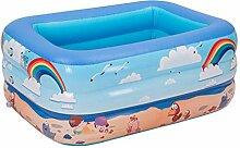 Baby Planschbecken Schwimmbad Rechteckiges