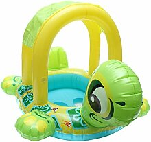 Baby Pool Float mit Dach, AOLVO aufblasbare Baby