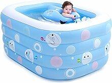Baby Pool Schwimmbecken Baby Home Pool Isolierung verdicken neugeborenes Kind Kind aufblasbare Schwimmen Eimer (135 * 105 * 58 cm)