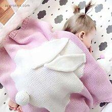 Baby Schlafsäcke,Kinder Kaninchen Ohr Decke,