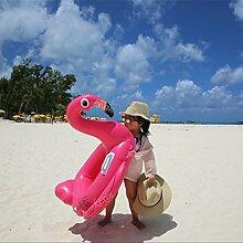 Baby Schwimmsitz Aufblasbarer Schwimmring Pool Schwimmen Pool Kinderboot Schwimmen Ring PVC Aufblasbarer Flamingo
