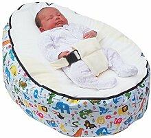 Baby-Sitzsack, tragbar, gefüll
