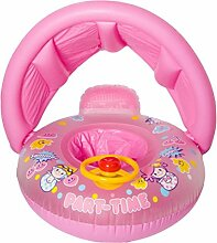 Baby Sonnenschutz gepolstertes Schwimmboot (66 x