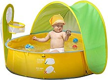 Baby Strandzelt Tragbares Pop-Up Schattenzelt Baby