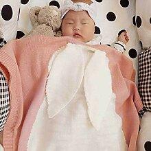 Baby Strickdecke, niedliche Neugeborene