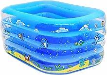 Baby-Swimmingpool-quadratisches Aufblasbares