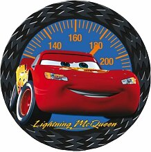 BABY-WALZ Disney Cars Teppich rund Spielteppich, ro