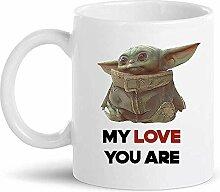 Baby Yoda meine Liebe, die Sie sind die