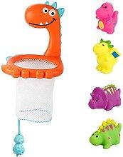 Babybad Spielzeug Set Light Up Squirt Tiere