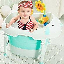 Babybadewanne-3 In 1 Faltbarer Babybadewanne,