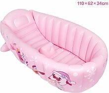 Babybadewanne Aufblasbare Baby Badewanne Kinder Schwimmbad Jungen Air Bäder Summer Schwimmbecken Anti-Rutsch Pool faltbar für unterwegs dick Baby Schwimmbecken Badewannensitz Stuhl (für 0-5 Jahre) ( Farbe : 3 )
