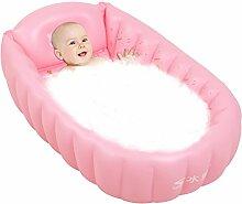 Babybadewanne Baby-Badewanne / Baby-faltende aufblasbare Badewanne Baby-Badewanne Große gepolsterte Kind-Badewanne faltbar / 0 ~ 5 Jahre alt ( Farbe : 1 )